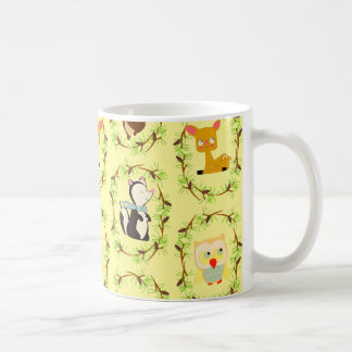 storybook forest mugs