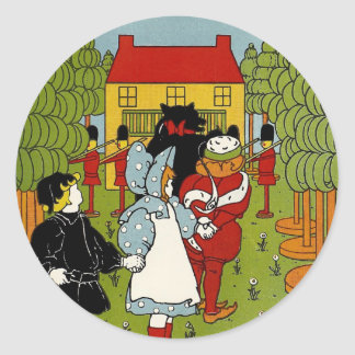 Storybook Land Classic Round Sticker