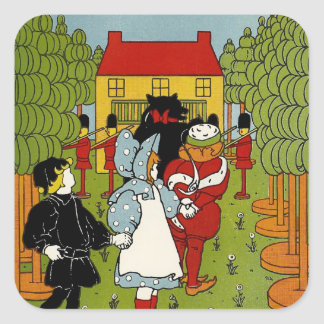 Storybook Land Square Stickers