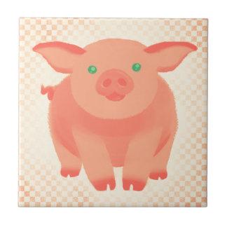 Storybook Pig Ceramic Tile