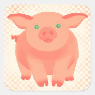Storybook Pig Sticker