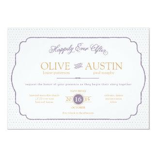 Storybook Romance Wedding Invitation