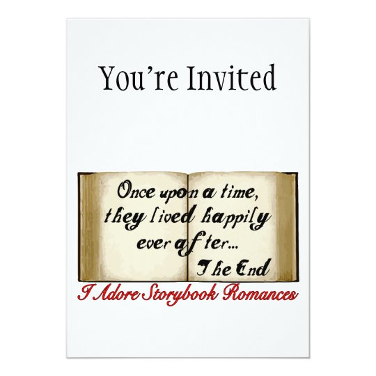 Storybook Romances Happily Ever After Card