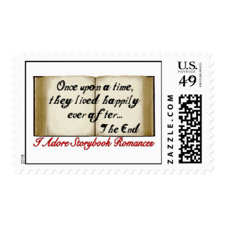 Storybook Romances Happily Ever After Postage