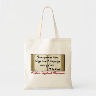 Storybook Romances Happily Ever After Tote Bag
