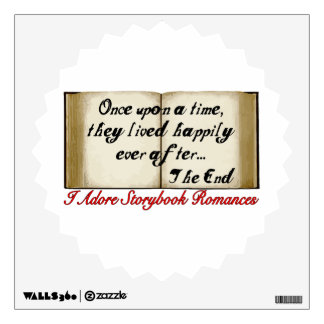 Storybook Romances Happily Ever After Wall Decal