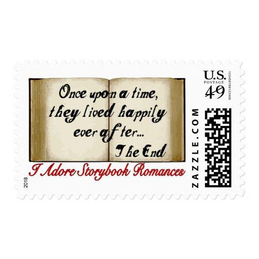 Storybook Romances Postage Stamp