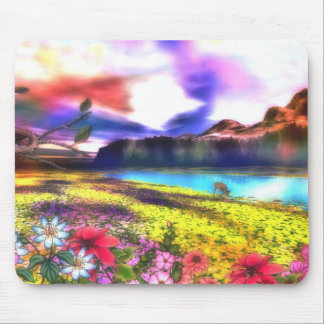 storybook scene mouse pad