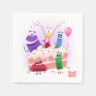 StoryBots Party Paper Napkins