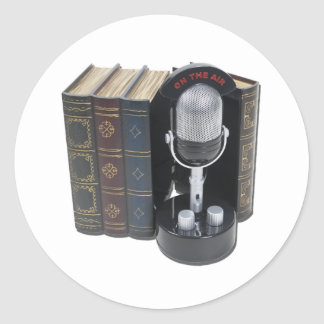 StoryBroadcasts042211 Pegatina Redonda
