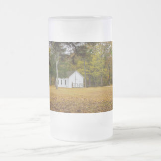 Storys Creek School Frosted Glass Beer Mug