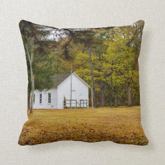 Storys Creek School Throw Pillow