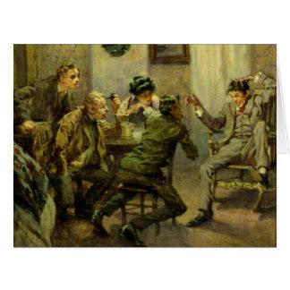 Storyteller 1910 greeting card