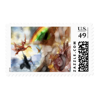 Storyteller - Clipped Wings Postage