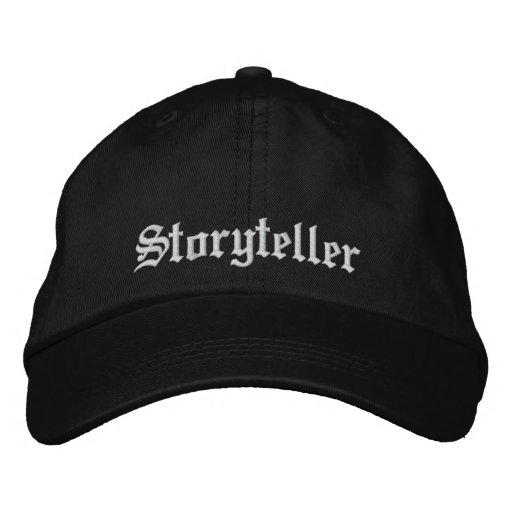 Storyteller Embroidered Baseball Hat