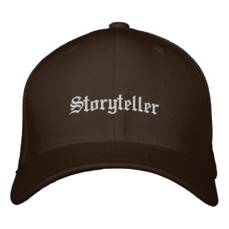 Storyteller Embroidered Baseball Hat