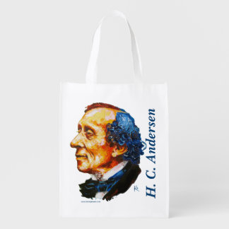 Storyteller - H. C. Andersen Grocery Bag