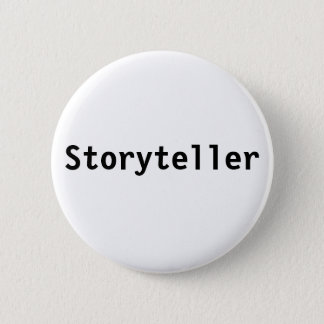 Storyteller Pinback Button