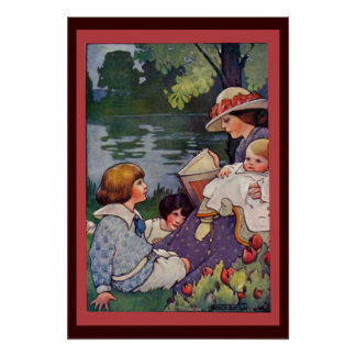 Storytime By The Water Poster