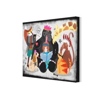 Storytime Canvas Print! Canvas Print
