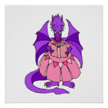 Storytime Dragon Print