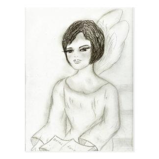 Storytime Fairy Postcard