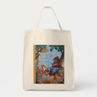 Storytime Forest Grocery Tote Bag