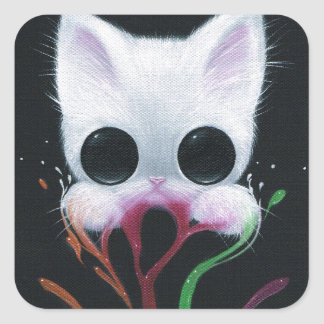 Storytime Square Sticker