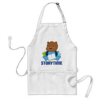 STORYTIME TEDDYBEAR ADULT APRON