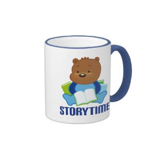 STORYTIME TEDDYBEAR COFFEE MUG
