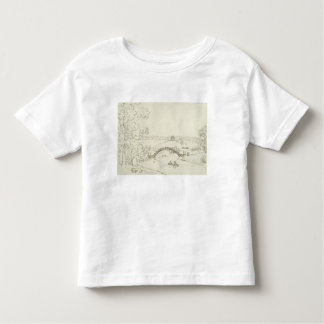 Stourhead, c.1780s (pen and ink on paper) toddler t-shirt