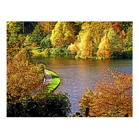 Stourhead Gardens, Wiltshire, UK Postcard