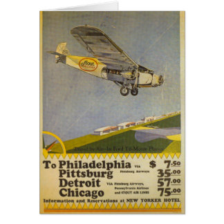 Stout Airlines Greeting Card