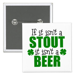 Stout Beer St. Patrick's Day Gift Pin