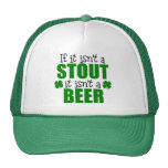 Stout Beer St. Patrick's Day Gift Mesh Hat