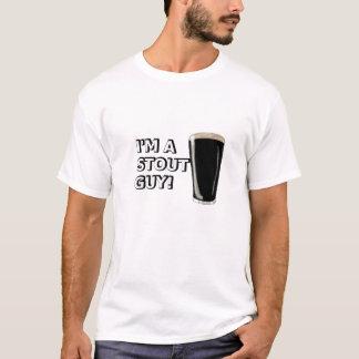 Stout Guy Image T-Shirt