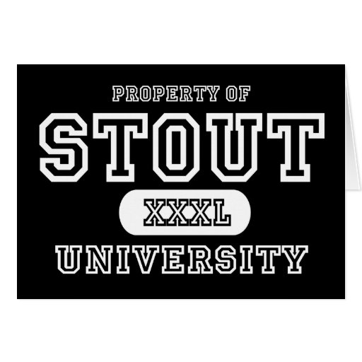 Stout University Dark Greeting Cards