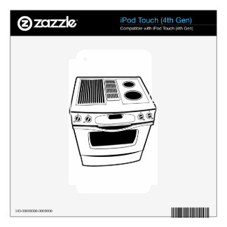 Stove Drawing Skins For iPod Touch 4G
