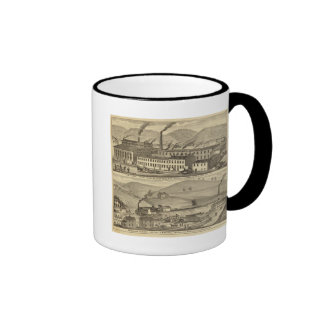 Stove foundry, fitting shops ringer coffee mug