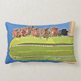 Stove Pipe Cartoon Lumbar Pillow