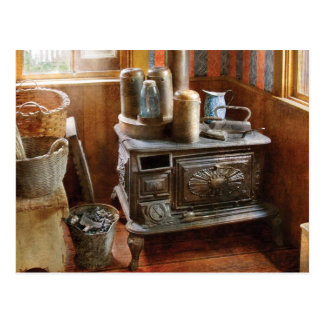 Stove - Remember the good ol days when Postcard