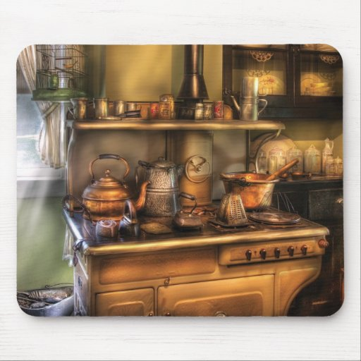 Stove -  What's for dinner Mouse Pad