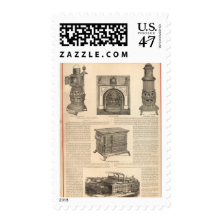 Stove Works, Albany, New York Postage