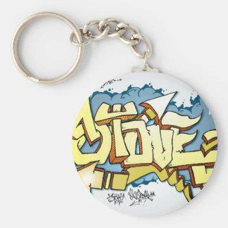 StoveTop Basic Round Button Keychain