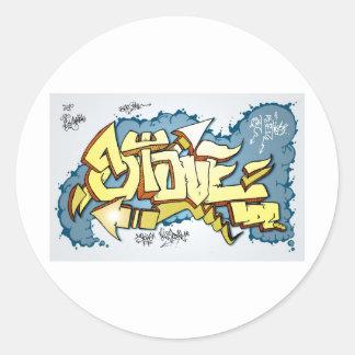 StoveTop Round Sticker