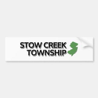 Stow Creek Township, New Jersey Bumper Sticker