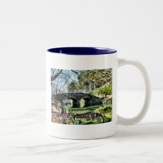 Stow Lake Birthday Two-Tone Coffee Mug