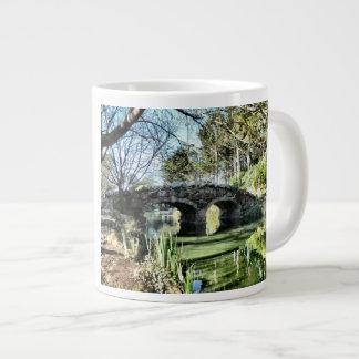 Stow Lake Bridge Large Coffee Mug