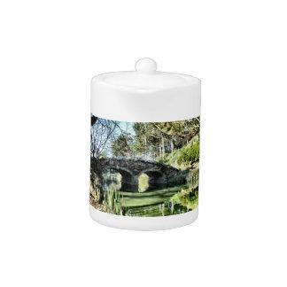 Stow Lake Bridge Teapot