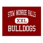 Stow Munroe Falls - Bulldogs - High - Stow Ohio Post Cards